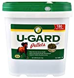U-Gard Pellets 10 lbs 80 Day Supply Horse Pony Supplement Ulcers Weight Diarrhea Colic