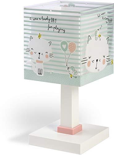 Dalber kinderlamp nachtkastje Loving kat groen dieren 40 W
