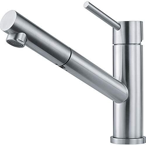 Franke Grifo para fregadero de cocina hecho de acero inoxidable Orbit-115.0569.461, gris