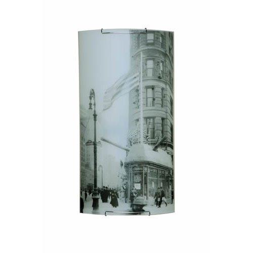 Spot-Light Wandleuchte Impressions 2 Glas, 34,5 x 66 cm SP-4060304M