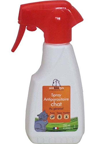 Spray antiparasitaire Chat AniBioLys 250ml