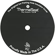 Therm-A-SEAT Ice Fishing Hole Insulator/Cover, Black, Single
