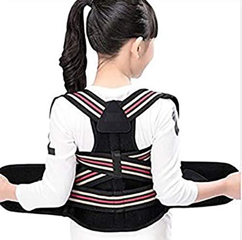 Órtesis de Espalda Volver Corrector de Postura Ajustable clavícula Apoyo de la Ayuda for Adultos y niños (Regular) (Size : XX-Large)