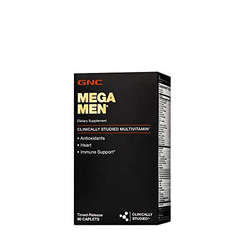 GNC Mega Men Multivitamins -90 caplets