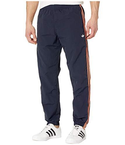 Adidas Originals - Pantaloni antivento a 3 strisce da uomo - Blu - Small