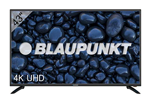 Blaupunkt Televisor TV LED 43' - 43 Pulgadas 4K Ultra HD UHD - BN43U2042FEB, Negro
