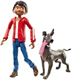 Disney and Pixar Coco Miguel Action Figure, 5.6-in / 14.2-cm Movie Character Toy with 3.6-in /9.1-cm Dante Dog Figure, Highly Posable with Authentic Design, Gift for Ages 3 Years Old & Up