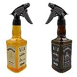 2 Stück Friseursprühflasche, 450 ml Zerstäuber Sprayflasche, tragbarer Salon-Friseursprüher,...