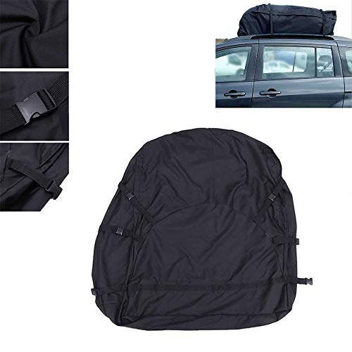 HKIASQ Roof Bag, Luggage Storage, 130X100x45cm Car, Roof Bag, Luggage Rack, Waterproof SUV Car Pickup