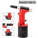 DoubleSun - Remachadora hidráulica de aire resistente para remache (1/8 3/16 3/32 5/32 pulgadas, pistola de remachado neumática