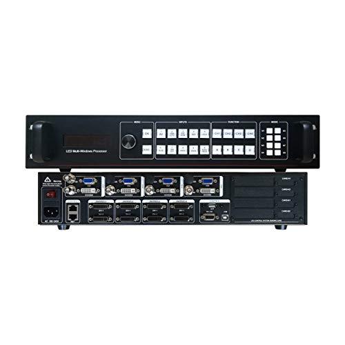 Pantalla LED de Alquiler con procesador de vídeo Compatible con 8 Tarjetas...