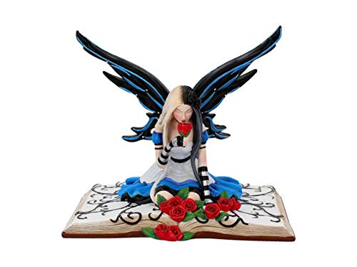Nemesis Now Alice - Figura Decorativa (Resina, 19 cm), Color Azul