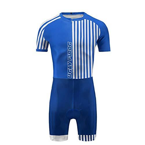 Uglyfrog Skinsuit Cyclisme 2019 Bike Wear Manche Courte Maillot de Cyclisme Costume Vêtements de Sport Bicyclette Tour de France