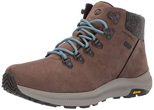 Merrell mens Ontario Mid Waterproof Hiking Shoe, Boulder, 9 US