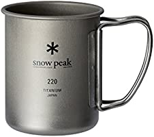 Snow Peak Titanium Single Mug