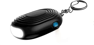 Meemoo Safety Personal Alarms 2 Styles: Keychain Personal Alarm with Flashlight 130db Siren or Door Stop Alarm