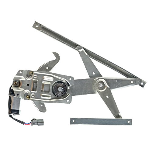 A-Premium Power Window Regulator with Motor Replacement for Ford Taurus 1996-2007 Mercury Sable 1996-2005 Front Left Driver Side