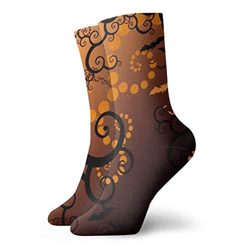 Calcetines, hermosos e impresionantes fondos de escritorio de Halloween, calcetines deportivos, calcetines casuales, calentadores de poliéster, 30 cm para hombre y mujer
