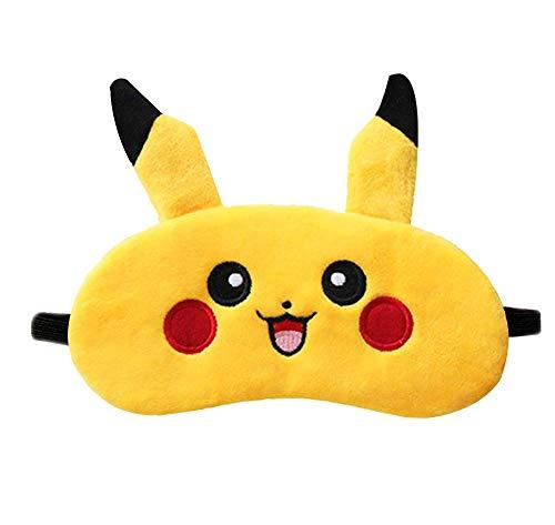 Cute Pikachu Sleep Mask Comfortable & Soft Eye Cover Sleep