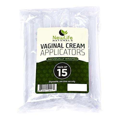 Mejor Extra Disposable Vaginal Applicators (15 Pack) Individually Wrapped, Fits Threaded Vaginal Creams and Contraceptive Gels crítica 2020