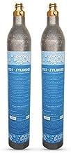 Neues Wasser Group Pack de 2 cylindres/bouteilles de CO2 - Convient pour les systèmes d'eau potable GROHE Blue Home Cartou...