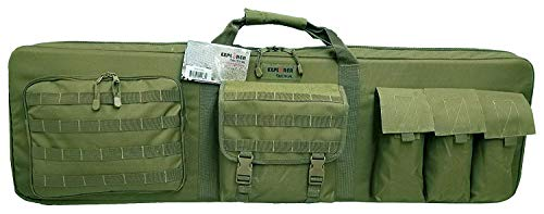Explorer 3 Rifles Weapon Case, OD Green, 46-Inch