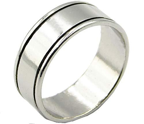 名入れ無料 彫刻 ファッションリング メンズ レディース 19号 指輪