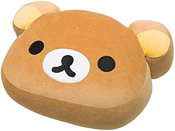 San X Rilakkuma Face Soft Plush Pillow Cushion MP80001 Size L
