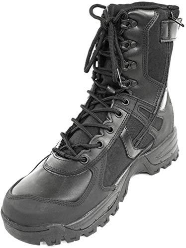 Mil-Tec Stiefel Patrol One Zip, schwarz 46 (13)