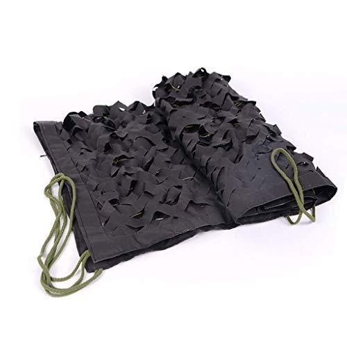 Multi Purpose Sunshade Camouflage Net Zwarte Bos Mode Camouflage Net Outdoor Zonnescherm Dubbelzijdige Coating Verborgen Zonnescherm Binnen En Outdoor Decoratie Netto Multi-size Optioneel (Maat: 1.5 * 2m) AI 2*3m