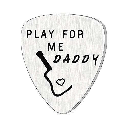 Púa de guitarra para padres, regalos inspiradores para papá, colgantes, día del padre, jugar para mí, papá