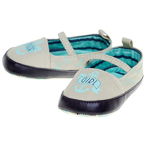 Sourpuss , Chaussures souple pour bébé (garçon) noir 18 - 24 Monate