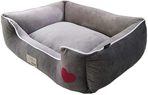 Haustierbetthund Sofa, Kennel Winter warm super große Matte, bissbeständige und schmutzige Hunde-Sofa-Matratze Vier Jahreszeiten Universal, geeignet für große, mittlere und kleine Hunde und Katzen-Gra