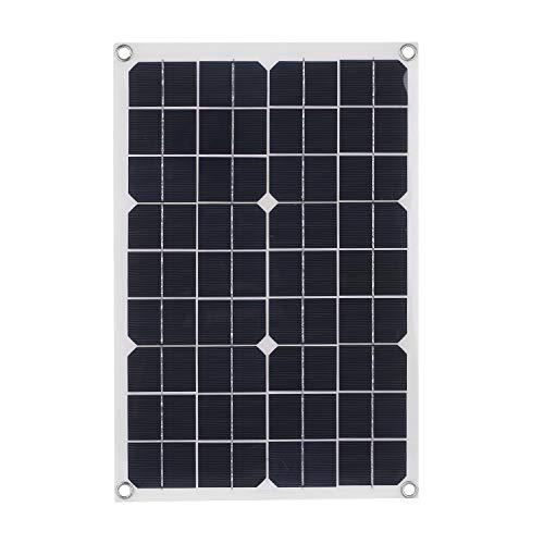 Decdeal Solarladegerät Handy Solarmodul Auto Hohe Umwandlungsrate Tragbare Sichere Lange Lebensdauer für Camping Klettern Angeln Wandern Picknick Grillen