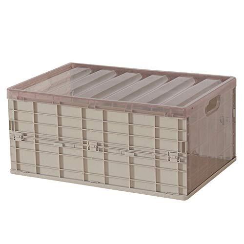 Yamer - Caja de almacenamiento plegable de plástico para el maletero del...