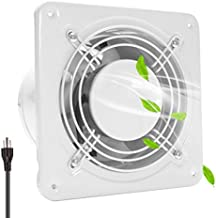 HG POWER Through-the-Wall Ventilation Fan High CFM 6 Inch Exhaust Fan Extractor Blower Exhaust Kitchen Bathroom Ventilation Fan Ceiling and Wall Mount Exhaust Fan (308 CFM)