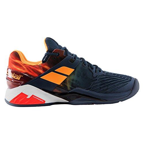 Babolat Babolat Herren Propulse Fury Clay Tennisschuhe, Mehrfarbig (grau/orange), 46 EU