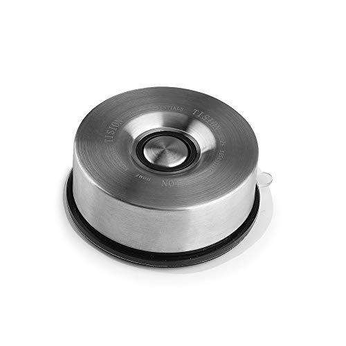 AZCSPFALB Multifunzione Portacoltelli Magnetico in Acciaio Inox Tondo Barra Magnetica per Coltelli per Coltello da Cucina per Uso Domestico/Forbici e Strumenti - Montaggio Facile
