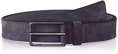 HUGO Golia-SD_sz30 Cinturón, Azul (Dark Blue 401), 125 (Talla del fabricante: 110)...