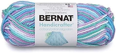 Bernat Handicrafter Cotton Ombres Yarn Beach Ball Blue Ombre