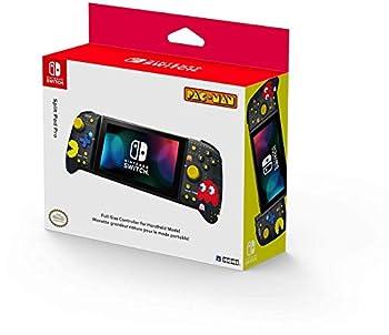 Hori Nintendo Switch Split Pad Pro  Pac-Man  Ergonomic Controller for Handheld Mode - Officially Licensed By Nintendo and Namco - Nintendo Switch