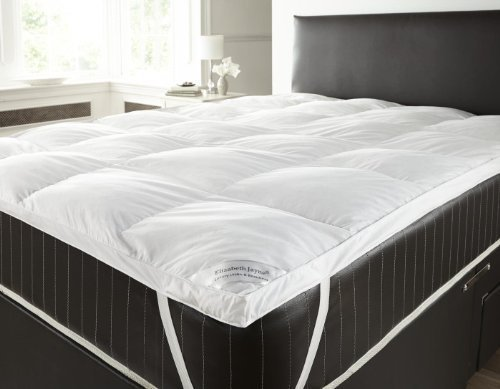 Elizabeth Jayne Goose Feather and Down Duvet Mattress Topper Double (White)