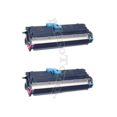 2 cartuchos de tóner compatibles para impresoras Konica