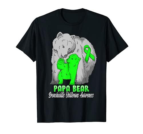 ブロンキオリティス オブライテラン チャイルドアウェアネス パパベアサポート R Tシャツ