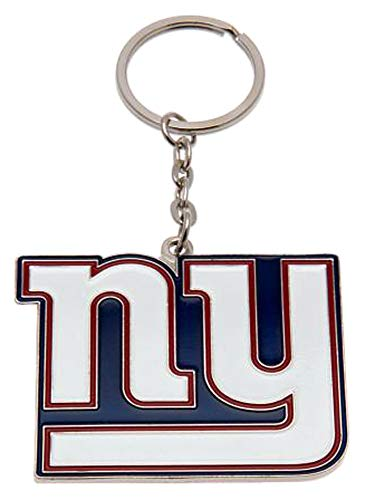 llavero oficial placa metal New York Giants NFL de fútbol americano