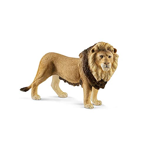 SCHLEICH Wild Life Lion Educational Figurine for Kids Ages 3-8
