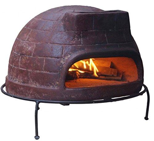 Sol-y-Yo Horno de Pizza Venecia - horno de piedra en terracotta 52 cm