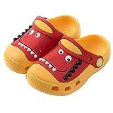 Zuecos de dinosaurio para niños y niños, zapatillas para playa...