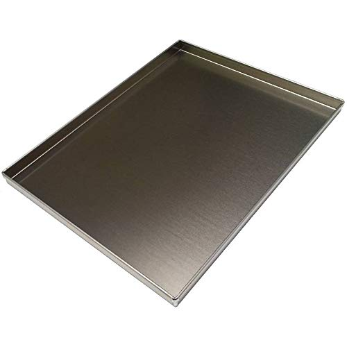 Erre4m Bandeja de horno de 30 x 40 x 3 cm de altura, de aluminio profesional
