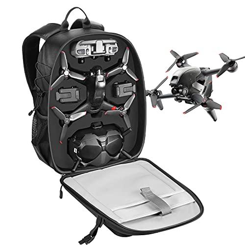 Smatree Zaino Professionale per DJI FPV Combo, Zaino Impermeabile per Accessori Drone